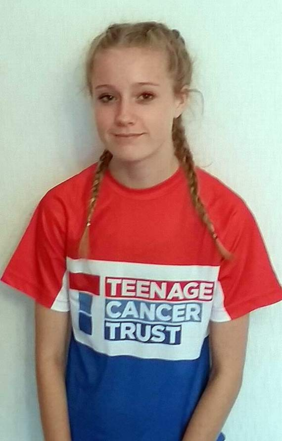 14-mile challenge in aid of Teenage Cancer Trust
