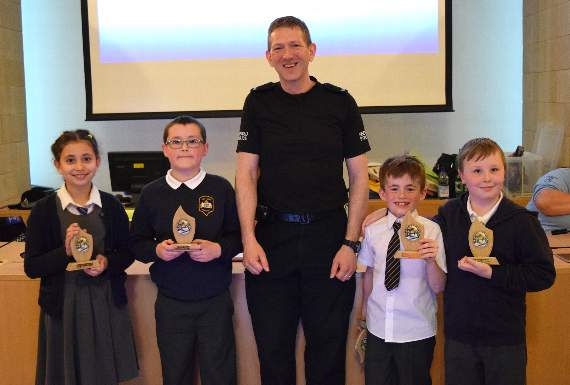 Pen-y-Bont the road safety quiz kings