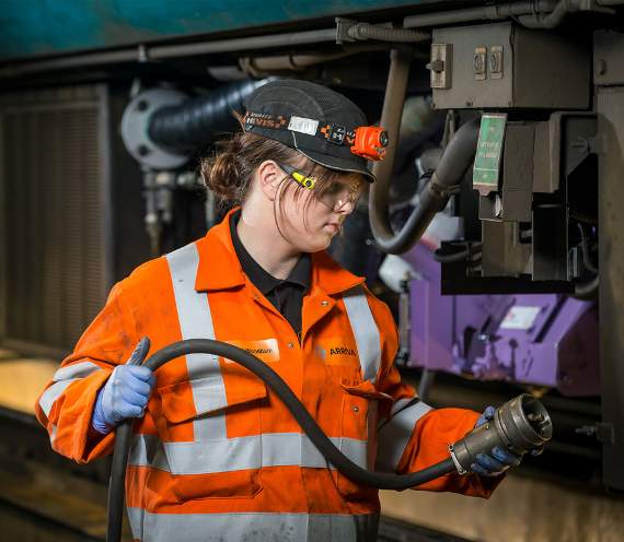 Railway apprenticeship works for Demi more than another career path