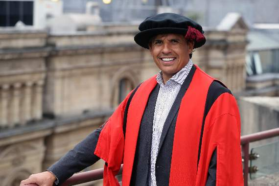 Chris Coleman picks up Honorary Fellowship