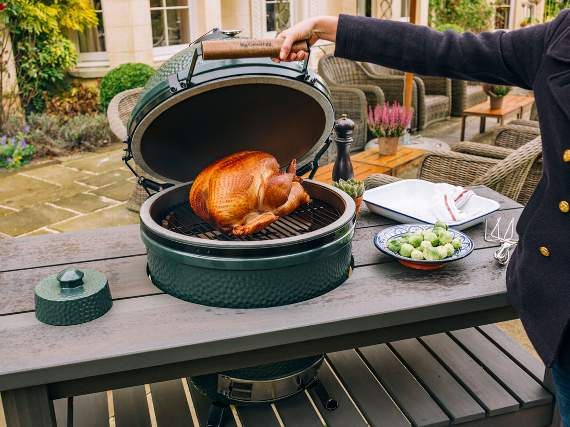 Big Green Egg And Cooking Demos At Topstak Open Day News