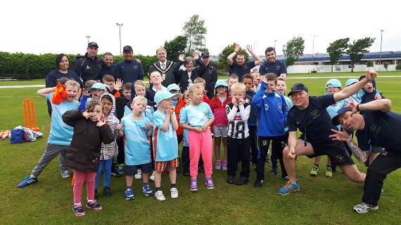 All Star fun at Barry Athletic Cricket Club!