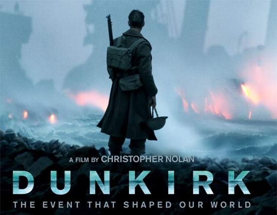 Nolan's Dunkirk is an epic, emotional tour de force... Screen Talk with Gareth Jamieson