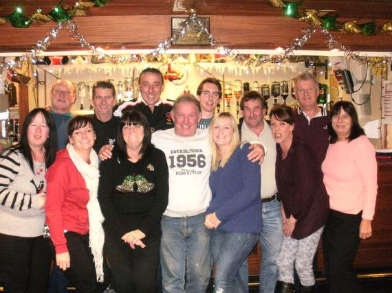 Charities benefit from Barry railway club's closure