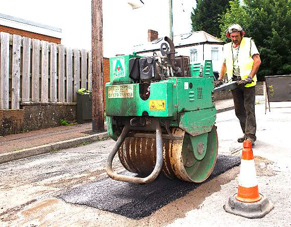 £1m to be spent on road resurfacing in Vale
