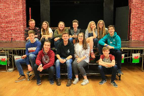 Young actors are ready to star in the Pencoed Urdd Eisteddfod musicals
