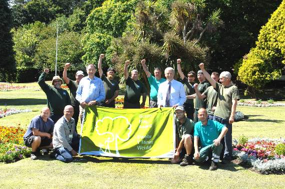 Vale Council excels in Green Flag awards