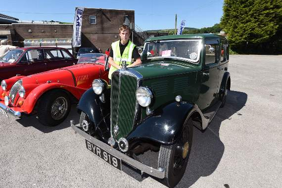 South Wales Classic Car Meet Supports Stroke Association News - Car meets near me today
